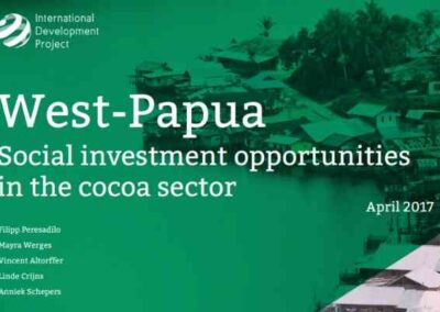 Social investment opportunities in the cocoa sector