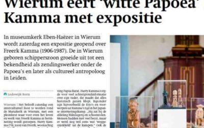 Expositie over 'witte Papoea' Freerk Kamma