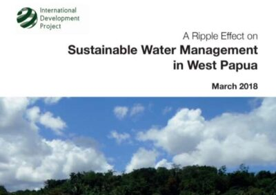 A Ripple Effect on Sustainable Water Management  in West Papua
