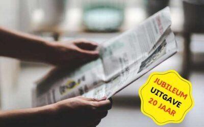 Jubileum Nieuwsbrief – Juli 2015