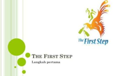 Presentatie over The First Step afvalproject