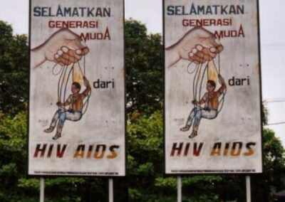 HIV/AIDS prevention in Indonesia and Papua