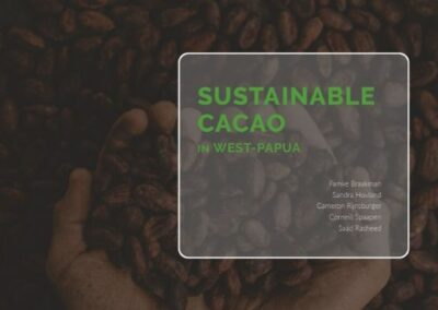 Rapport: Sustainable Cacao in West Papua