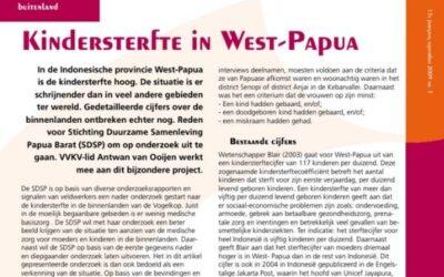Kindersterfte in West-Papoea – VVKV